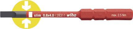 Plochý výměnný bit Wiha SoftFinish electric 34580, 75 mm