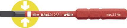 Plochý výmenný bit Wiha SoftFinish electric 34582, 75 mm