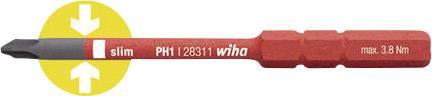 Křížový PH výměnný bit dílna Wiha SoftFinish electric 34583, 75 mm