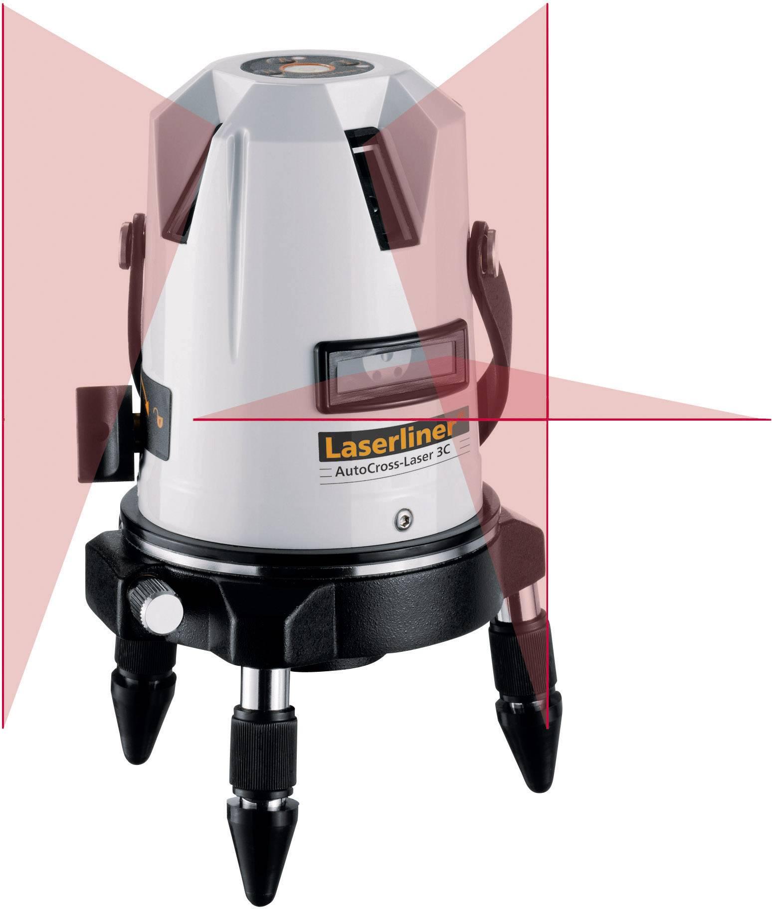Křížový laser samonivelační Laserliner ACL 3C POWERBRIGHT, kalibrováno dle ISO