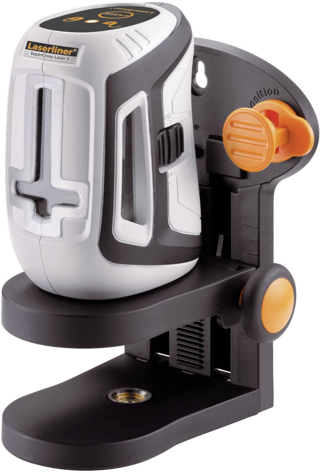 Křížový laser SuperCross-Laser 3 Laserliner 081.140A, kalibrováno dle ISO