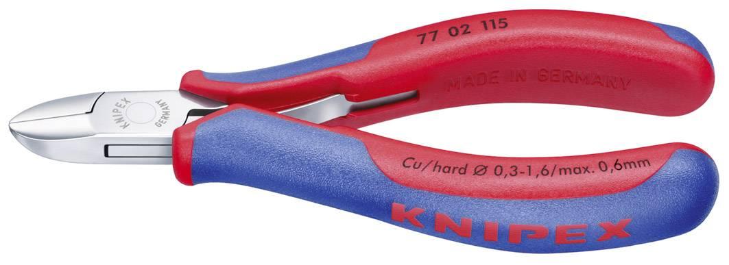 Kliešte bočné štípacie pre elektroniku a jemnú mechaniku Knipex 77 02 130, 130 mm