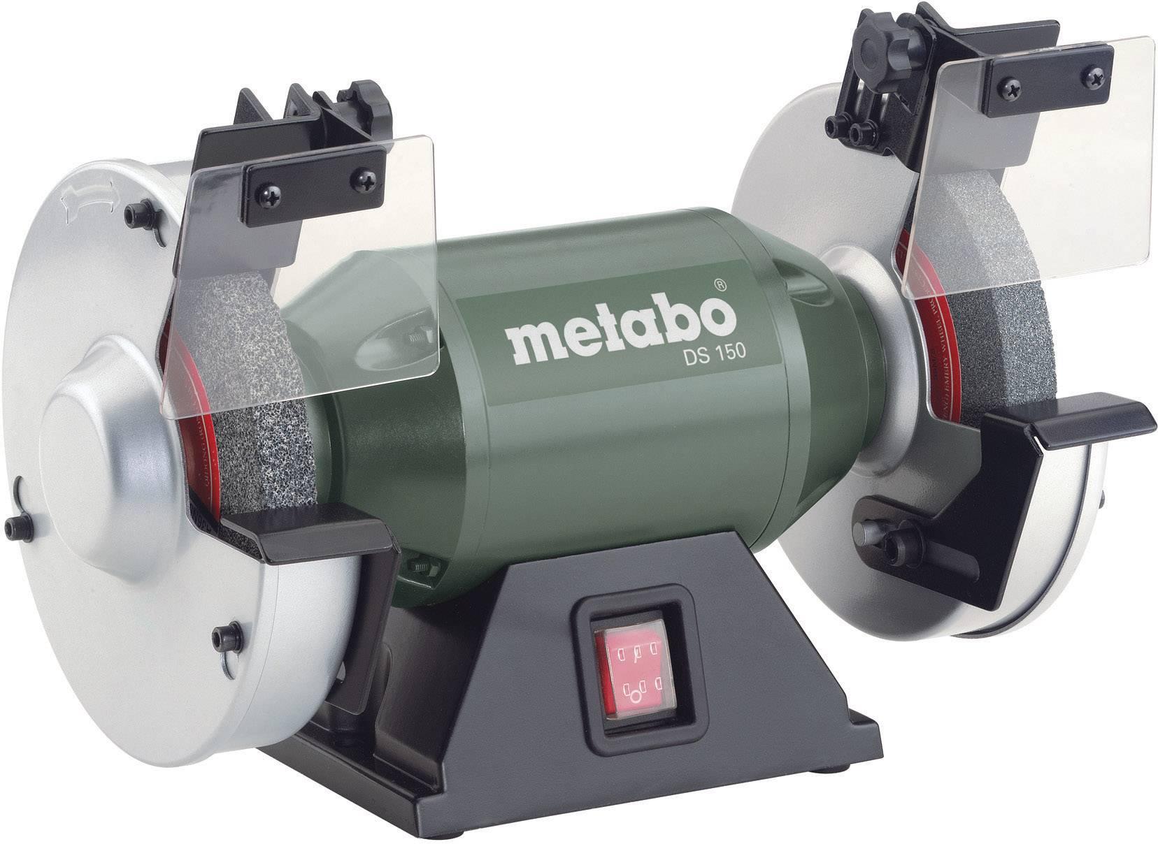Dvojkotúčová stolová brúska Metabo DS 150 619150000, 350 W