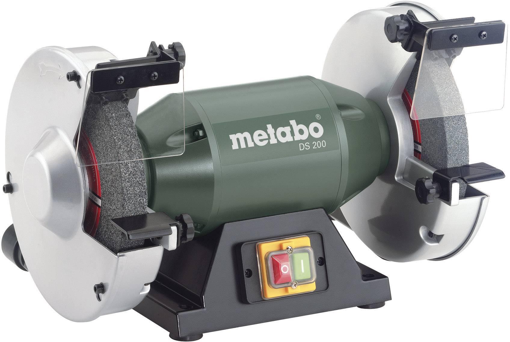 Dvoukotoučová bruska Metabo DS 200 619200000, 600 W