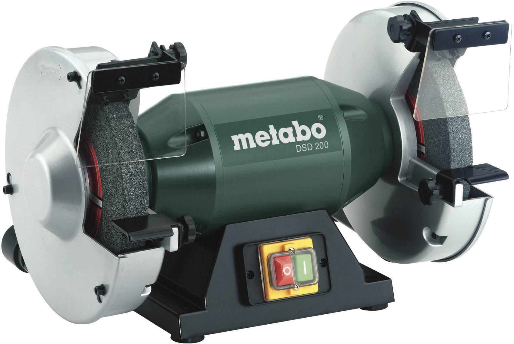 Dvojkotúčová stolová brúska Metabo DSD 200 619201000, 750 W