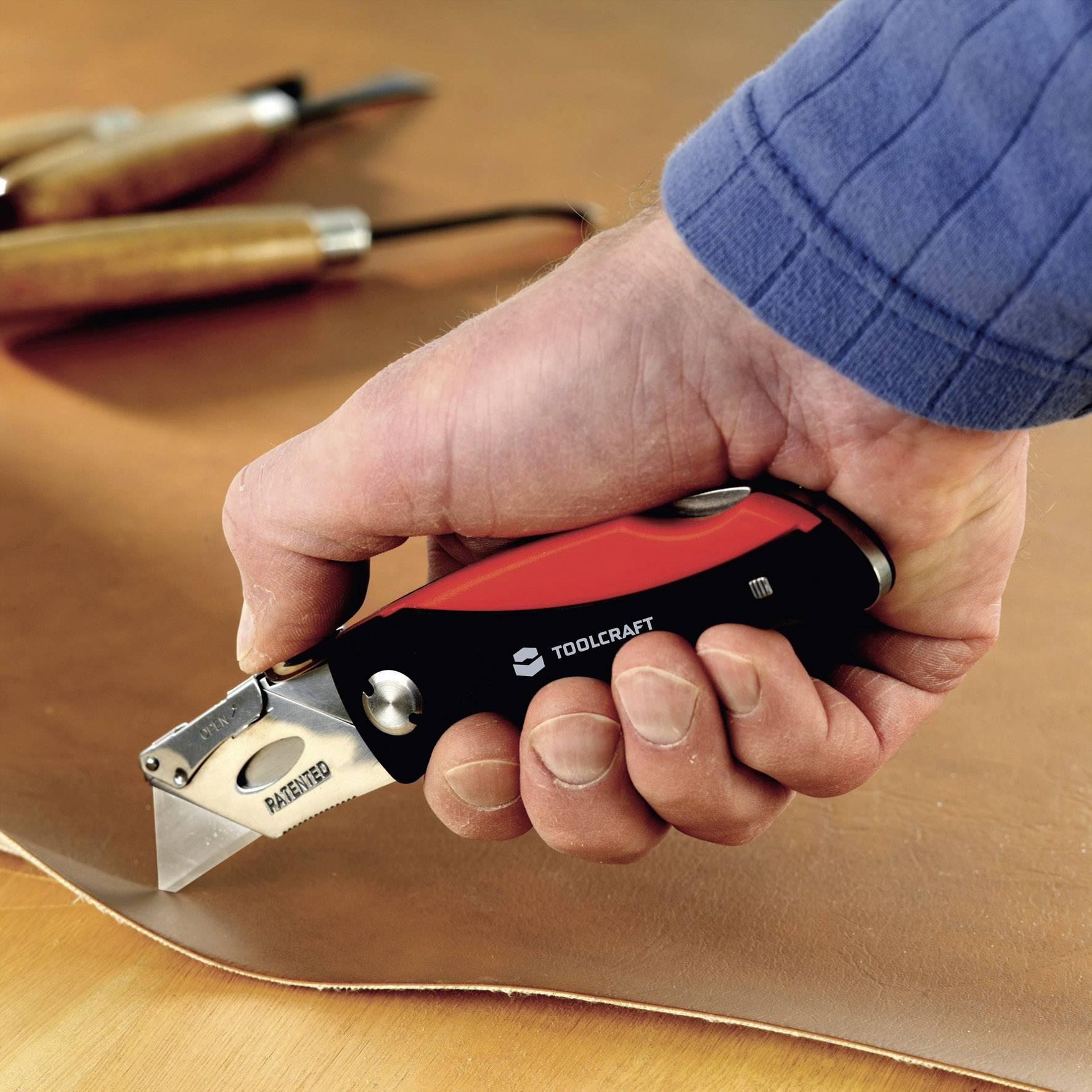 Univerzální skládací nůž TOOLCRAFT