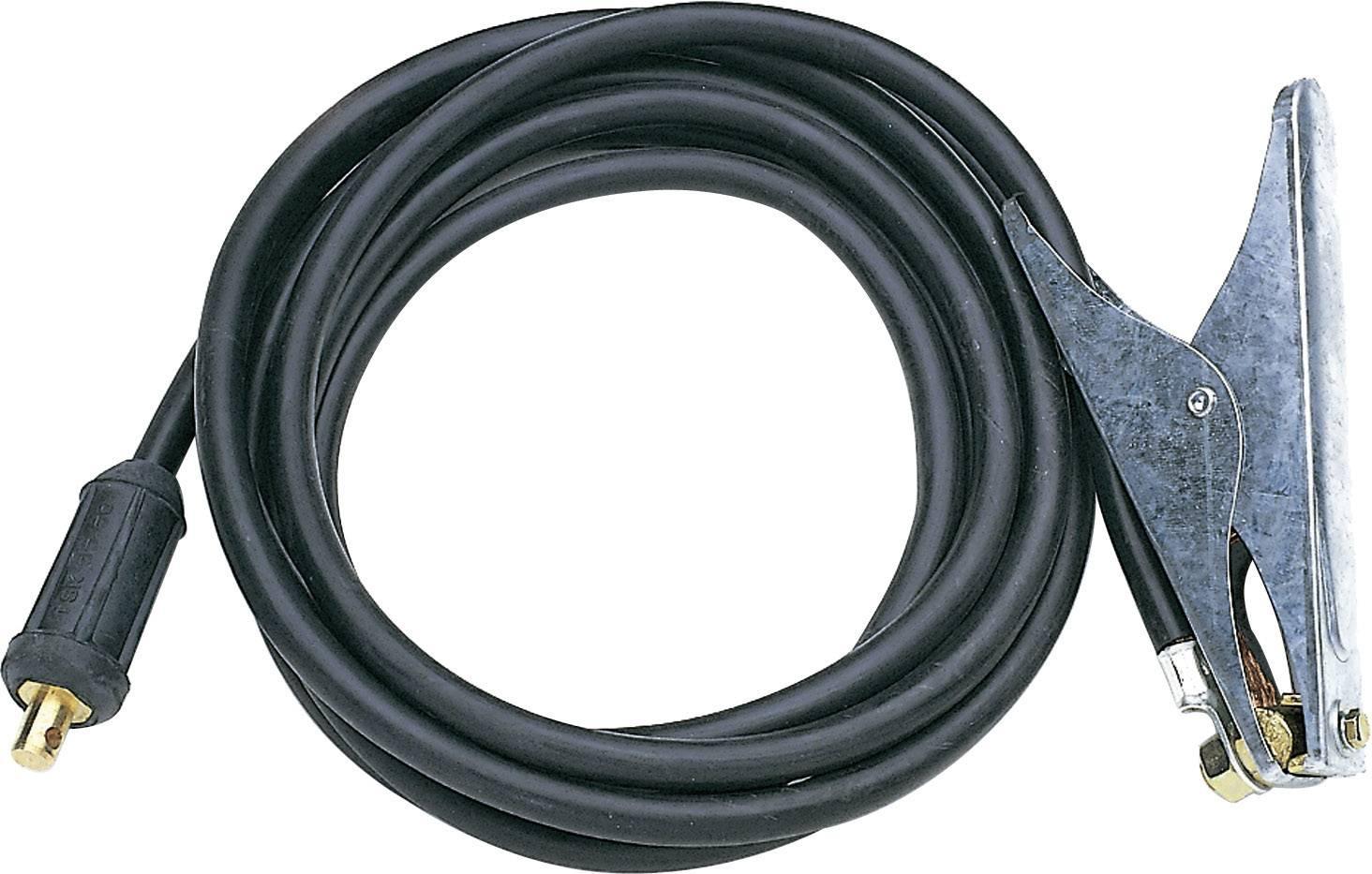Zemnící kabel ke svářečce Lorch, konektor 13 mm, 25 mm²