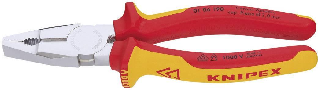 Kombinované kleště VDE Knipex 01 06 190, 190 mm
