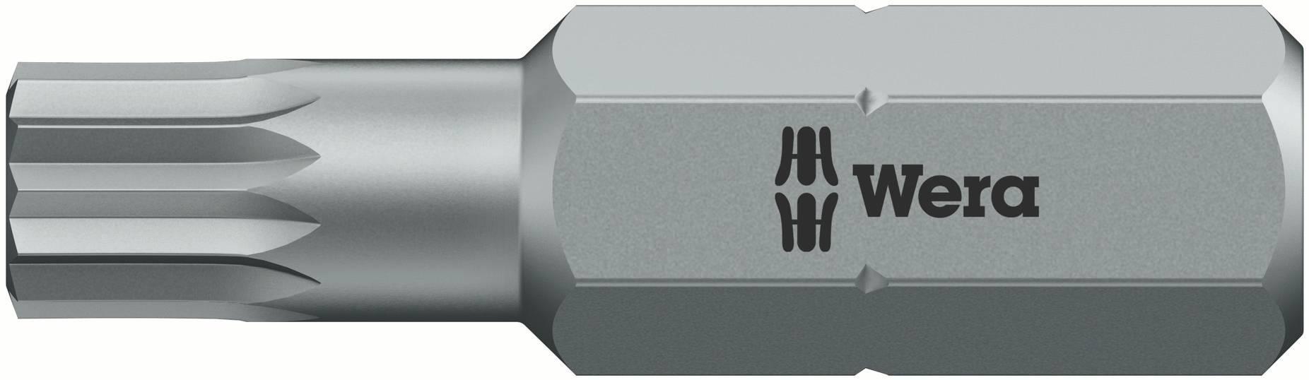 Bit s viacerými hranami Wera 860/1 XZN M8 x 50, D 6.3, nástrojová oceľ, legované, 1 ks
