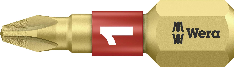 Krížový bit Wera 851/1 BDC PH1X25 05 056400 001, 25 mm, nástrojová oceľ, legované, diamantová vrstva, 1 ks