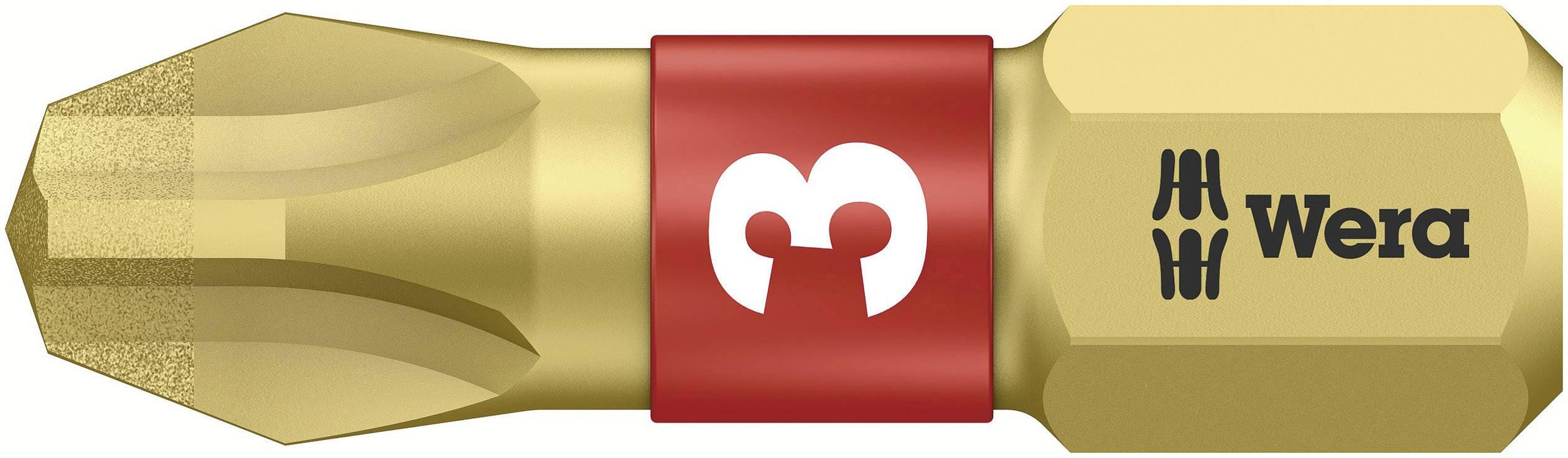 Krížový bit Wera 851/1 BDC PH3X25 05 056404 001, 25 mm, nástrojová oceľ, legované, diamantová vrstva, 1 ks