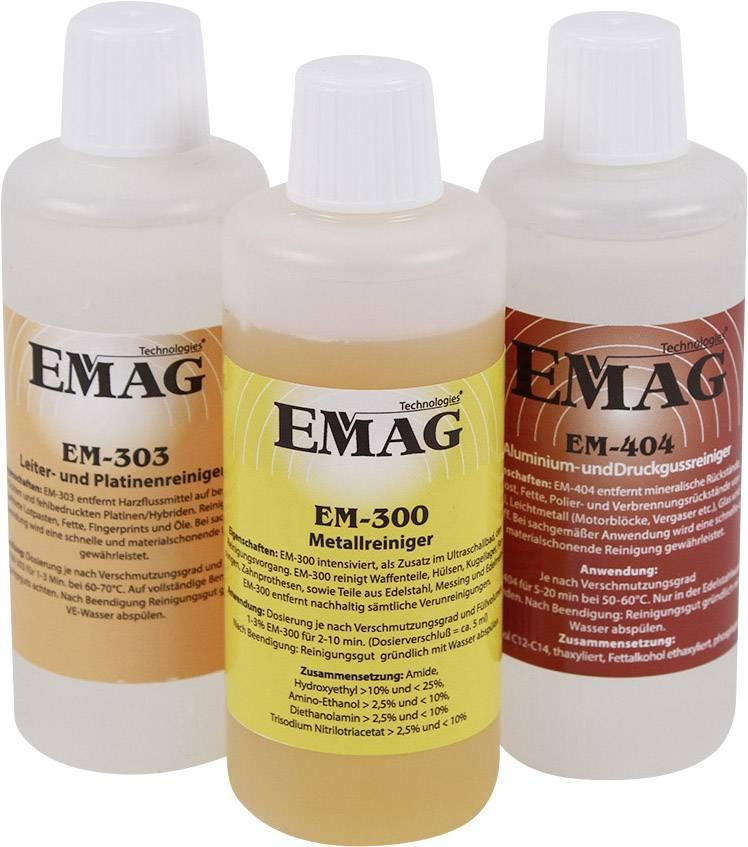 Sada čistiacich koncentrátov Emag pre dielňu, 3 ks