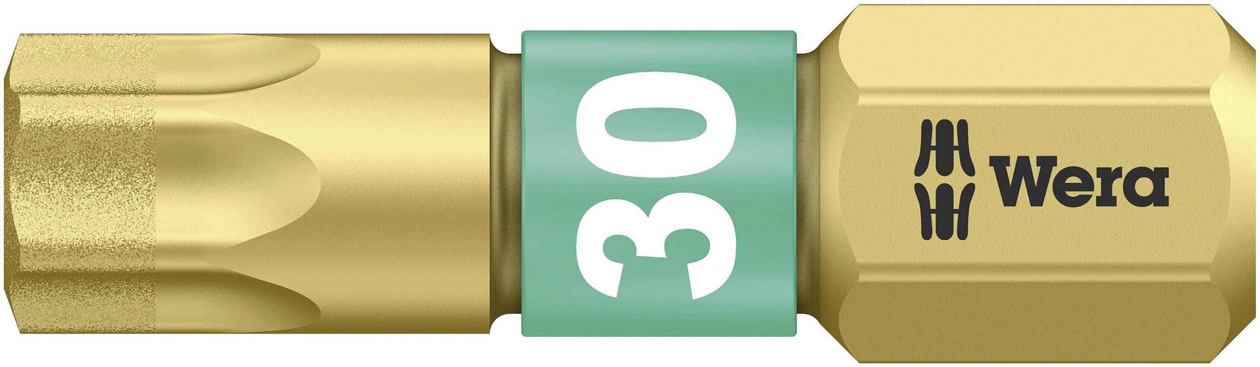 Bit Torx Wera 867/1 BDC TX30X25 05 066108 001, 25 mm, nástrojová oceľ, legované, diamantová vrstva, 1 ks