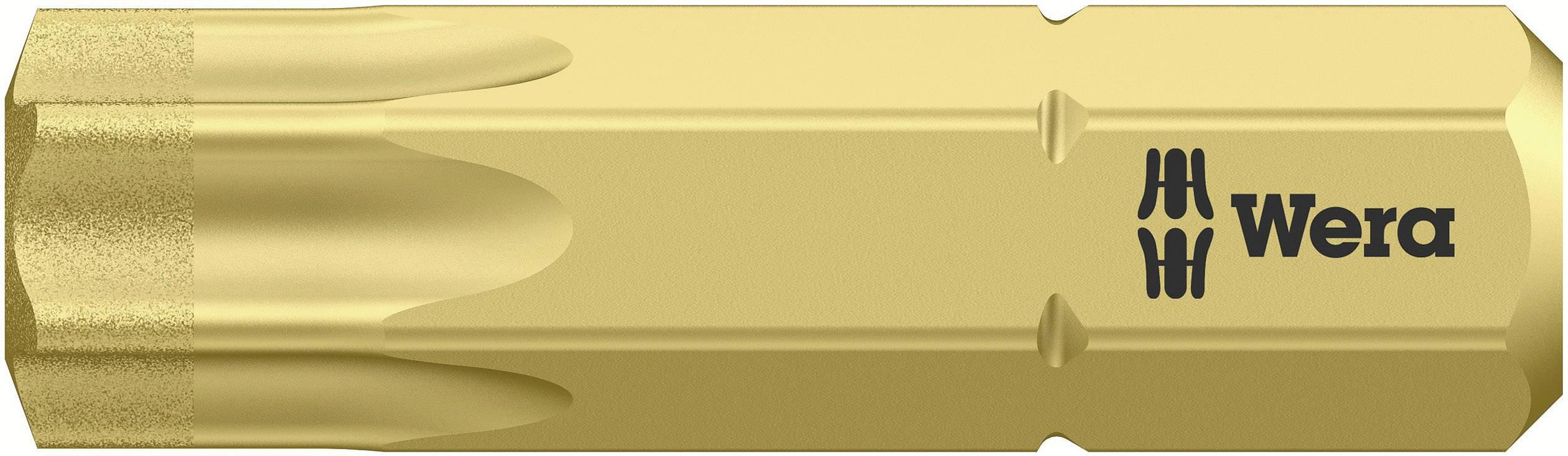 Bit Torx Wera 867/1 BDC TX40X25 05 066110 001, 25 mm, nástrojová oceľ, legované, diamantová vrstva, 1 ks