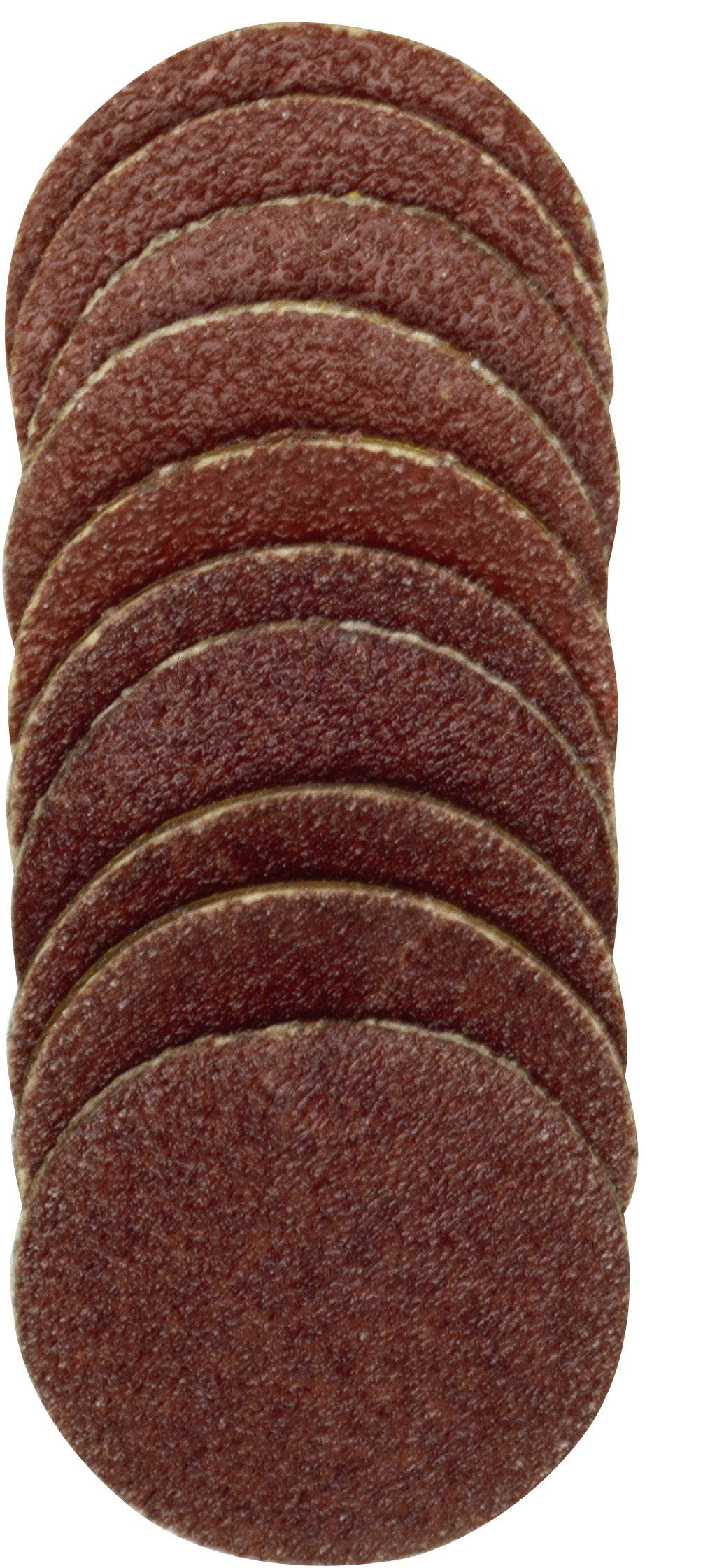 20 dielny. Sada náhradných brúsnych listov Ø 18 mm Proxxon Micromot 28 983 18 mm, Zrnitosť 120/150, 1 sada