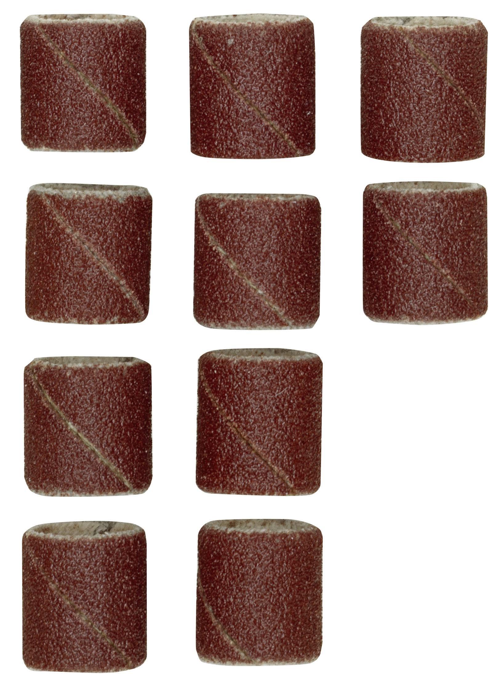 Náhradní soubor brusných pásu K150. Obsah 10 kusu.