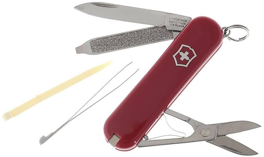 Vreckový nôž Victorinox CLASSIC 0.6223, červená