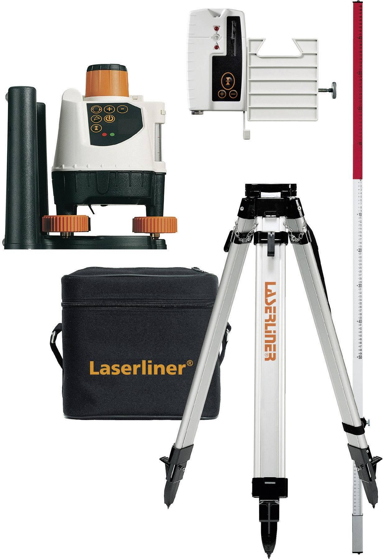Sada rotačného lasera BeamControl-Master, Laserliner 026.04.00A