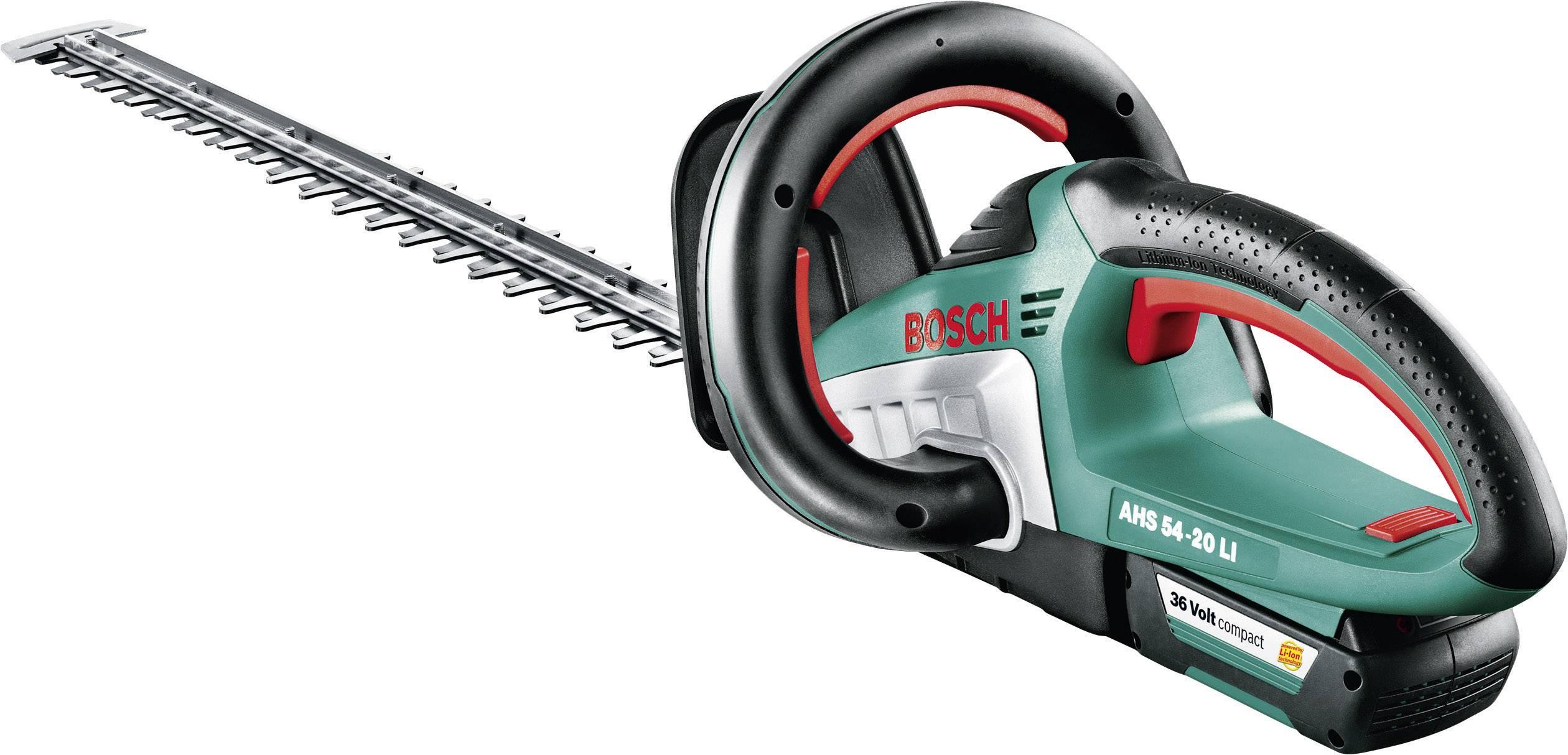 Záhradnícke nožnice Bosch Home and Garden AHS 54-20 LI 060084A100, Li-Ion akumulátor
