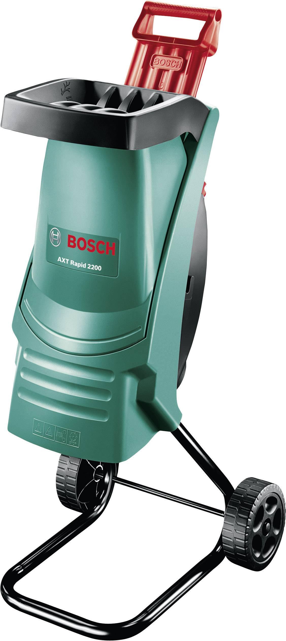 Elektrická nožový zahradní drtič AXT RAPID 2200 Bosch Home and Garden 2200 W 0600853600