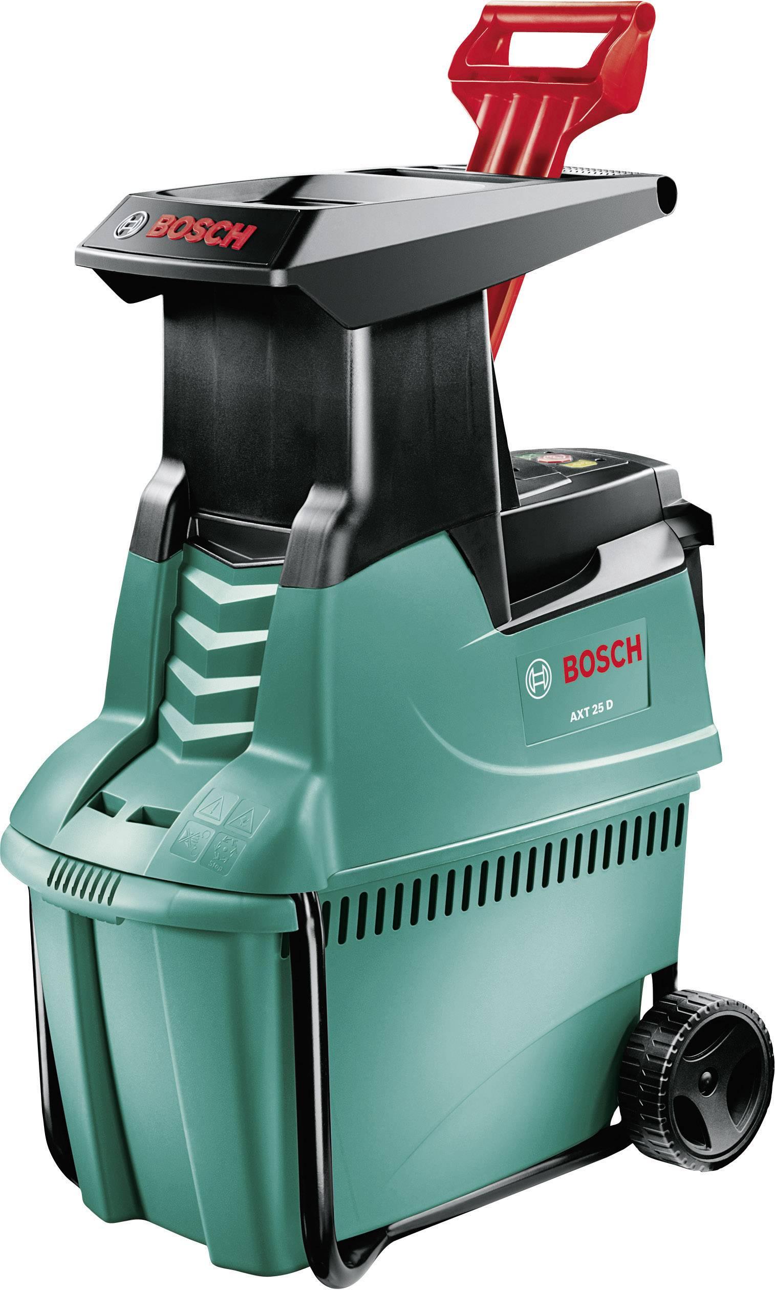 Elektrická válcový zahradní drtič AXT 25 D Bosch Home and Garden 2500 W 0600803100