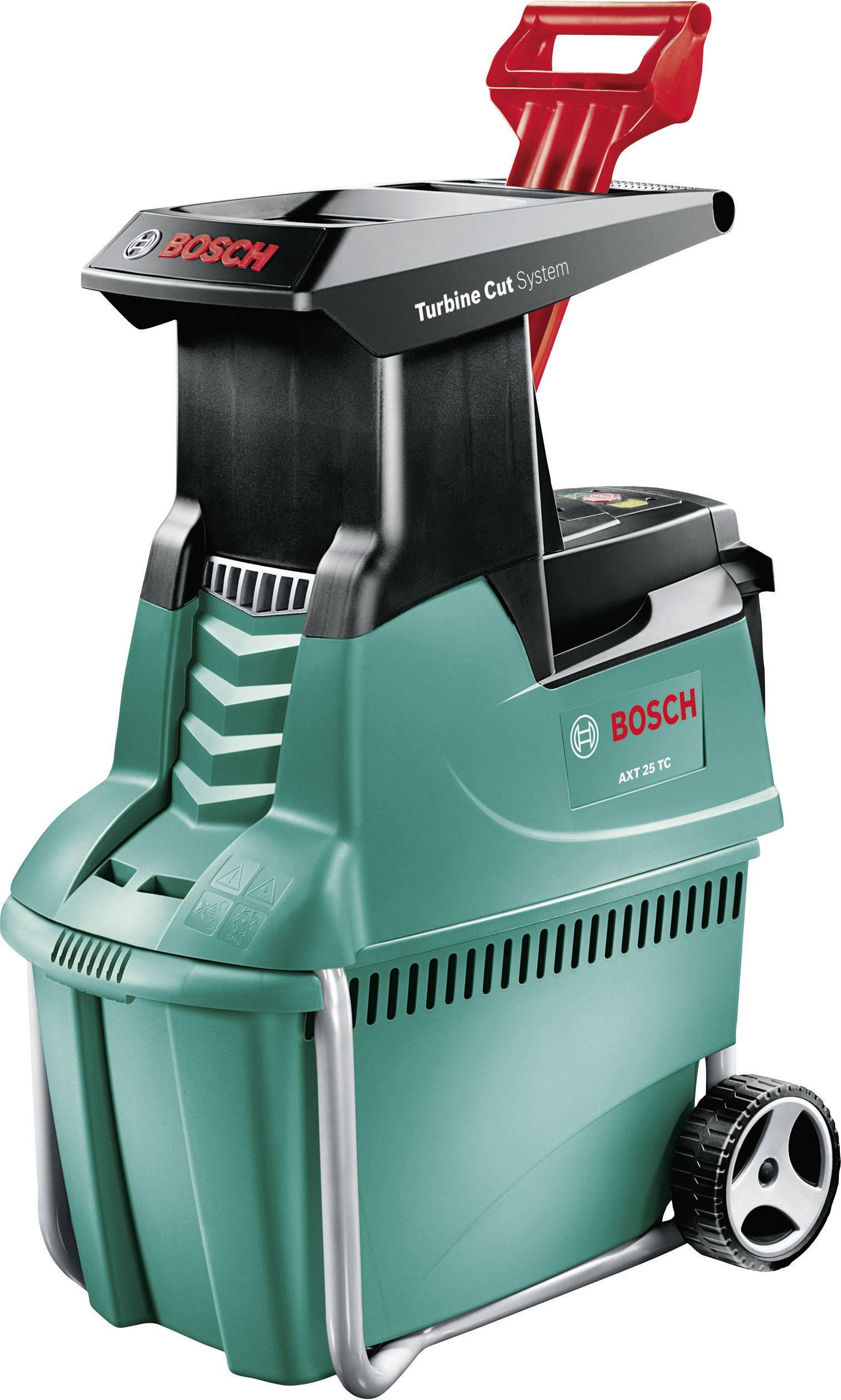 Elektrická válcový zahradní drtič AXT 25 TC Bosch Home and Garden 2500 W 0600803300
