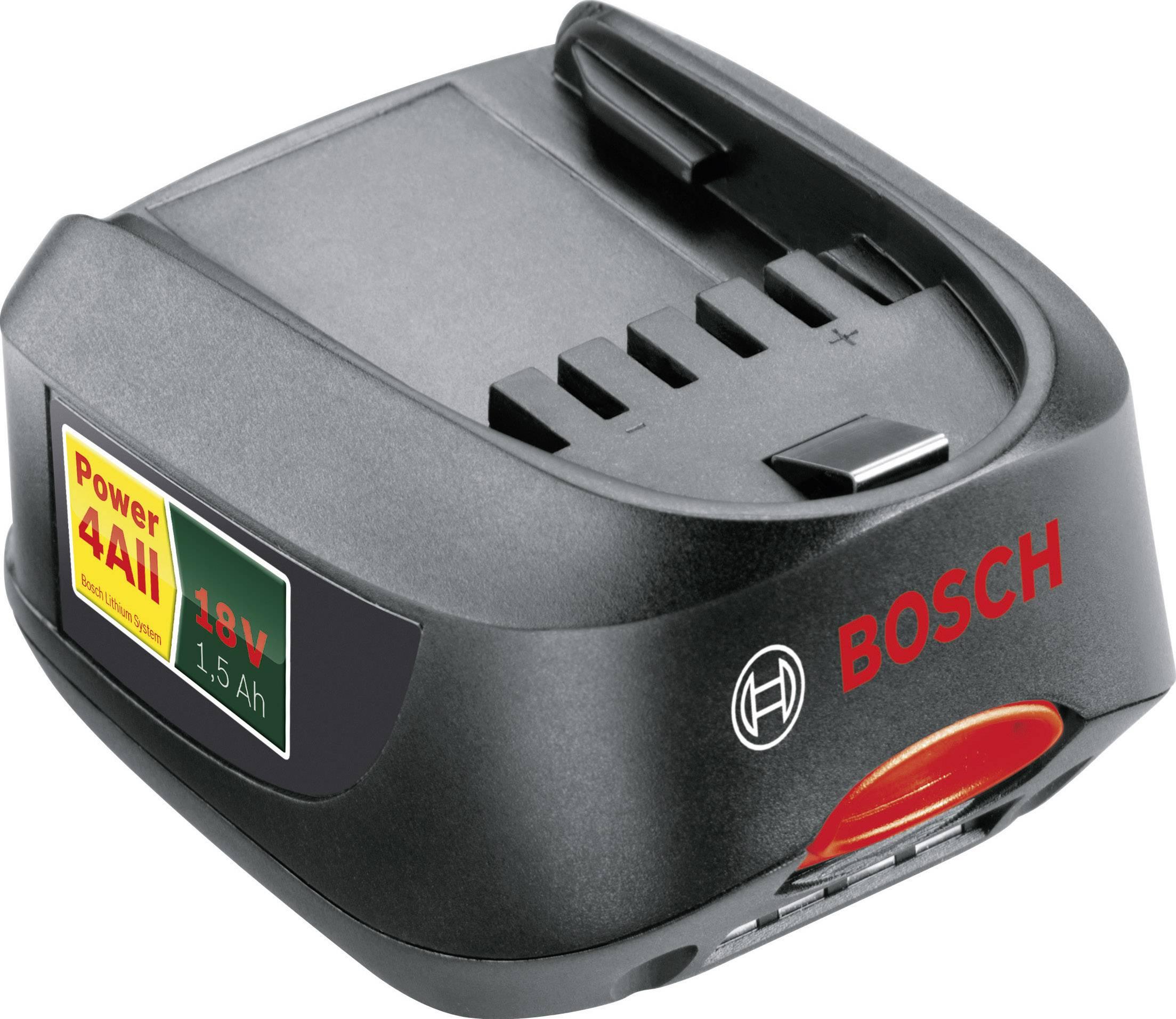 Akumulátor Bosch, Li-Ion, 18 V, 1.5 Ah, 1600Z00000