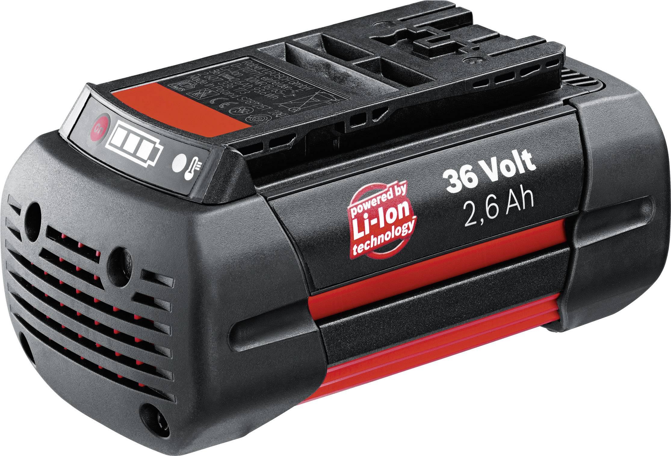 Akumulátor Bosch, Li-Ion, 36 V, 2.6 Ah, 2 607 336 108