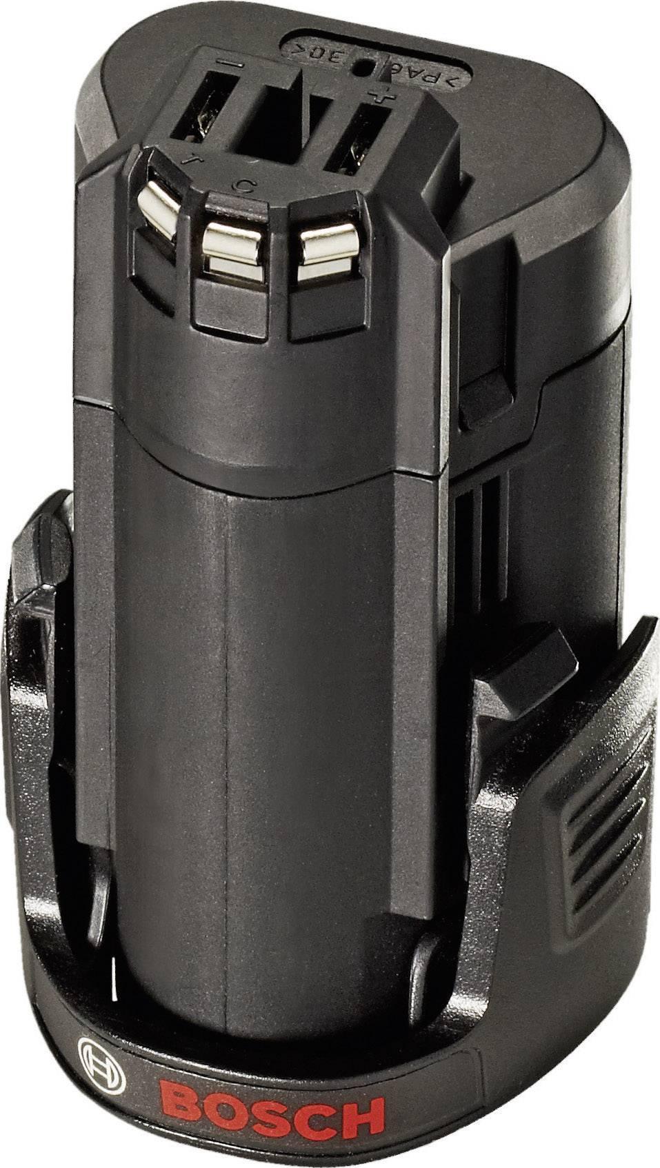 Náhradný akumulátor Bosch, Li-Ion, 10.8 V, 1.3 Ah, 2607336864