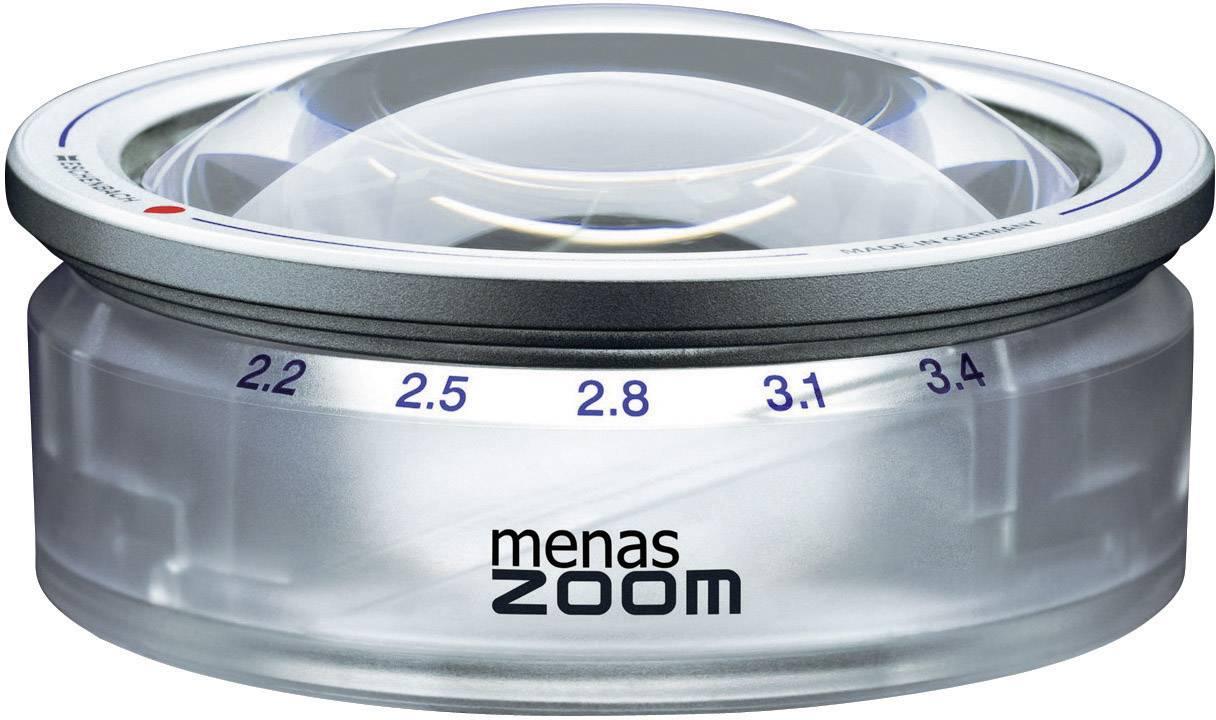Ručná lupa Eschenbach MENAS ZOOM zväčšenie: 3.4 x, (Ø) 65 mm