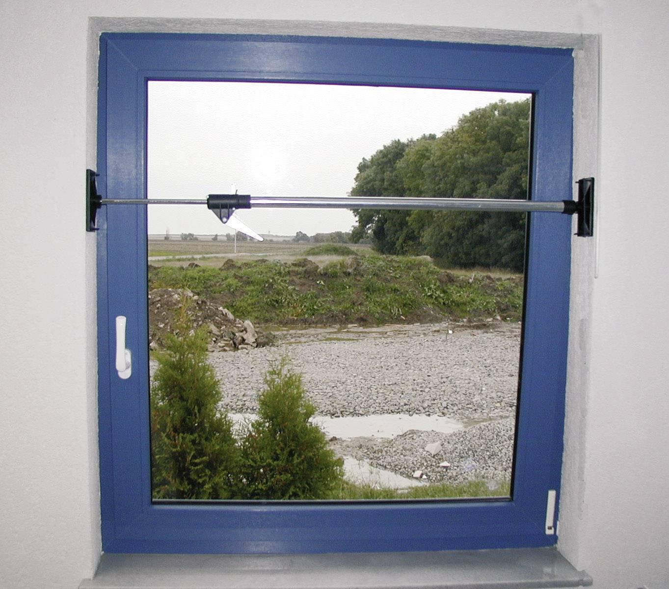 Dverová a okenná rozperná tyč 824188, 0.87 - 1.48 m, Max.nosnosť: 60 kg