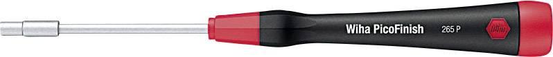 Šroubovák - nástrčný klíč vnější šestihran Wiha PicoFinish 00549, čepel 60 mm, klíč 3.2 mm, chrom-vanadová ocel