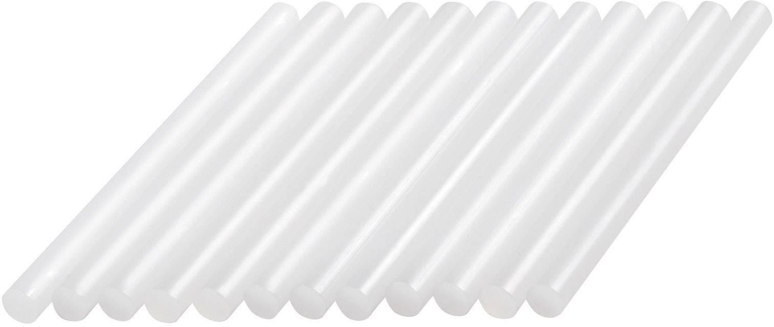 Lepiace tyčinky Dremel GG01 2615GG01JA, Ø 7 mm, délka 100 mm, 12 ks, priehľadná