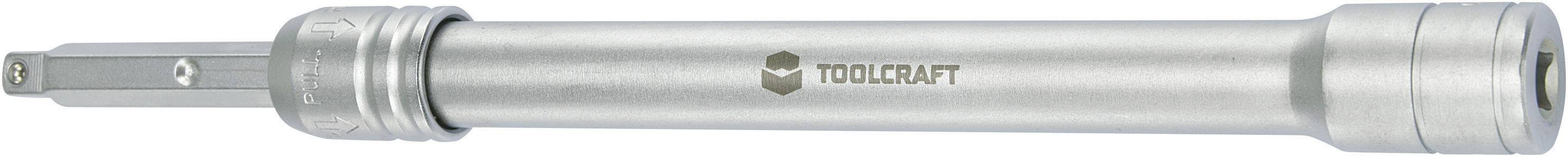 """Teleskopické prodloužení Toolcraft, 6,3 mm (1/4"""")"""
