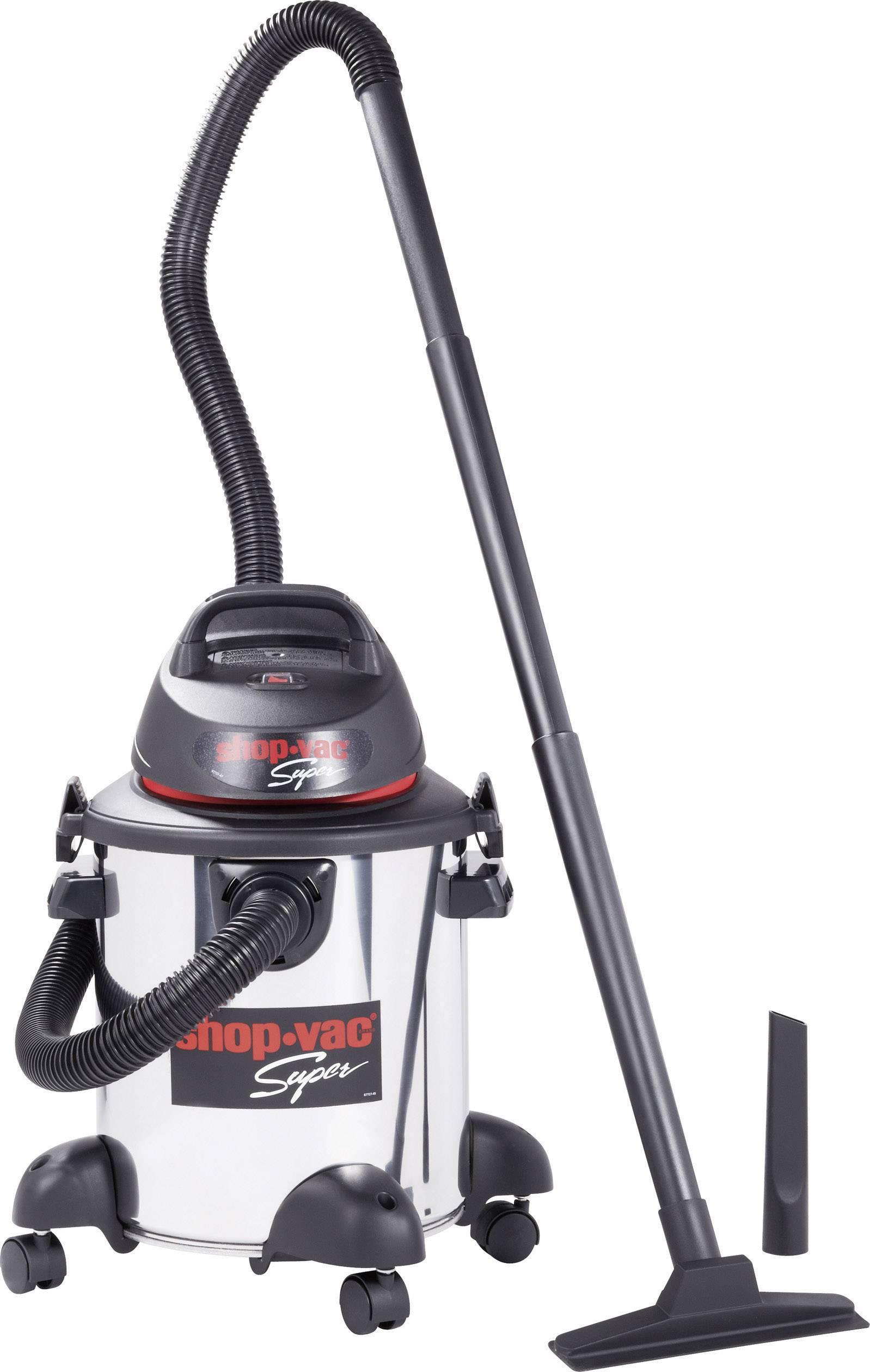 Vysávač na mokré a suché vysávanie ShopVac Super 1300, 1300 W, 20 l, nerez