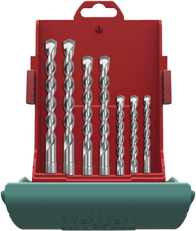 Sada príklepových vrtákov z tvrdokovu Heller Bionic 16315 6, 7 ks