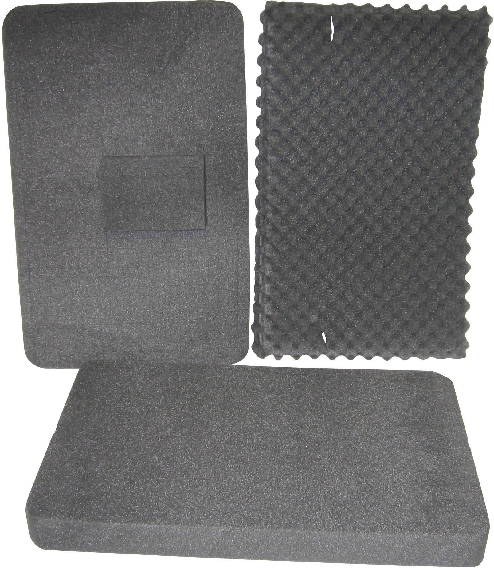 Penová vložka do kufra Alutec 36076, (d x š) 555 mm x 350 mm
