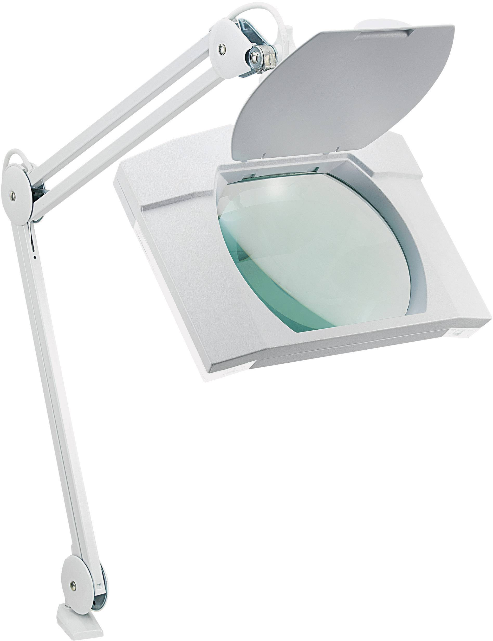 Stolná lupa s osvetlením TOOLCRAFT, 2x 9 W, 3D
