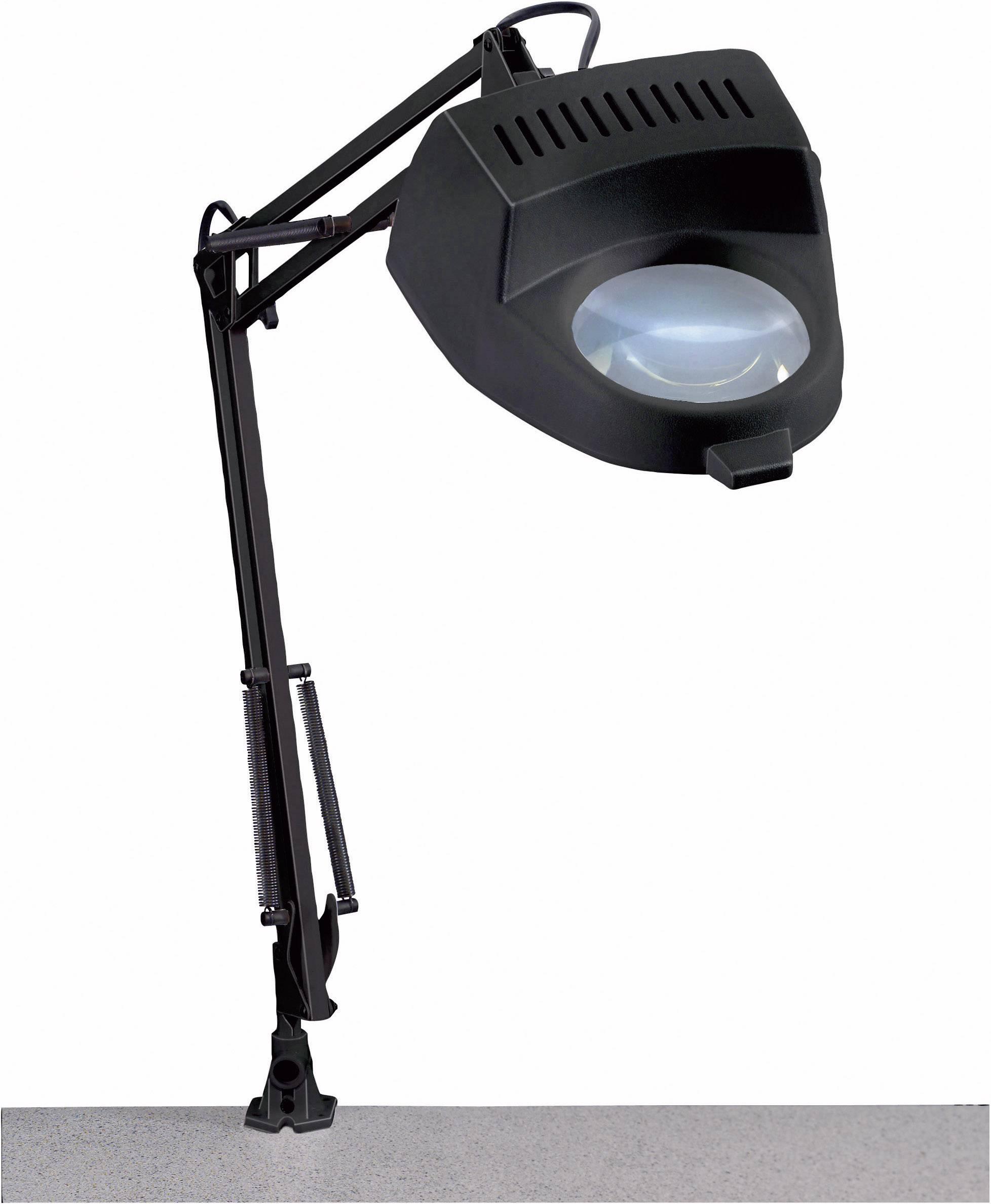Stolná lupa s osvetlením TOOLCRAFT, 60 W, 4D