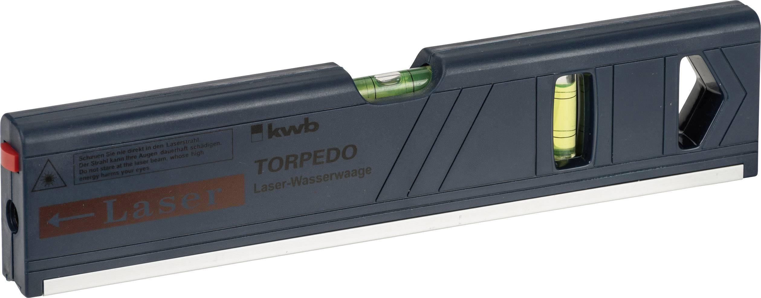 Laserová vodováha Torpedo 27 cm