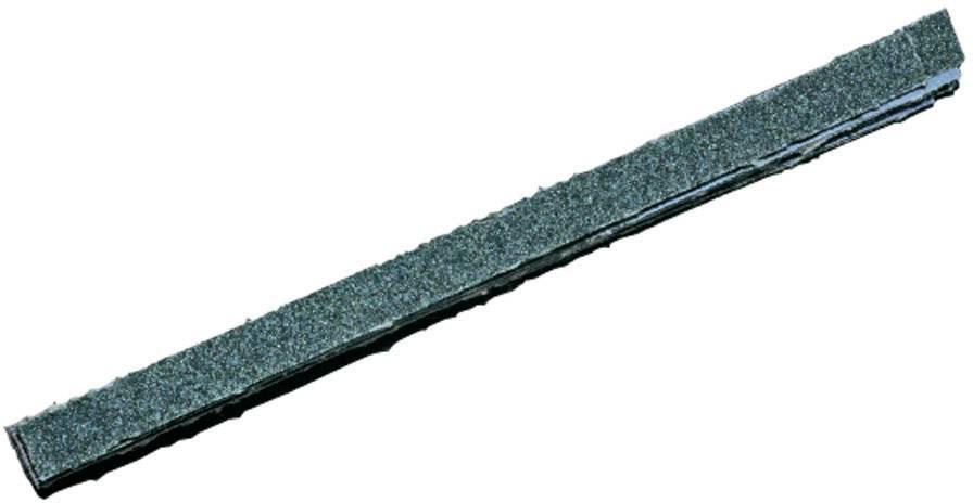 Brúsny papier pre pilníky 450812 zrnitosť 80, 120, 180, 240, (d x š) 127 mm x 8 mm, 1 sada