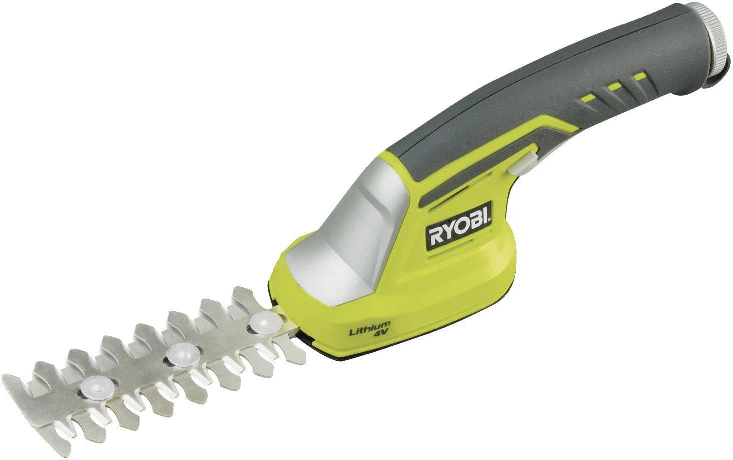 Akumulátorové nožnice na kríky Ryobi RGS410, 4 V