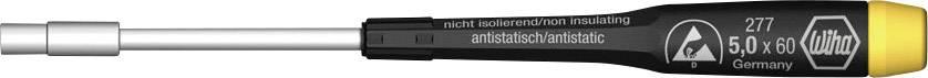 Skrutkovač - nástrčný kľúč vonkajší šesťhran Wiha Clé 07656, čepeľ 60 mm, kľúč 4 mm, chróm-vanadiová oceľ
