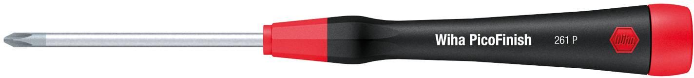 Krížový skrutkovač pre elektroniku a jemnú mechaniku Wiha PicoFinish 261P 00517, PH 1, dĺžka čepele: 80 mm