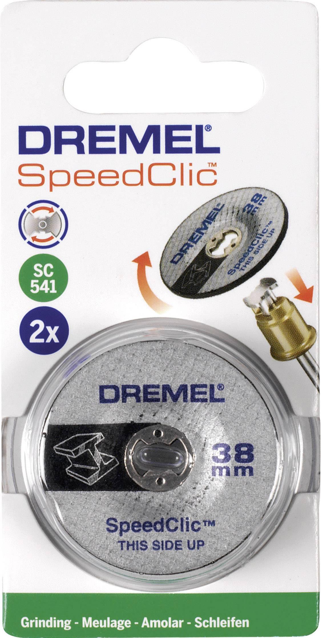 Drusné kotoučky SpeedClic Dremel SC541, Ø 38 mm, 2 ks