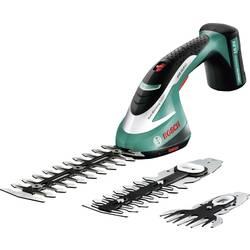 Akumulátorové nůžky na živý plot/trávník Bosch ASB 10,8 LI Set, 0600856301, 10,8 V