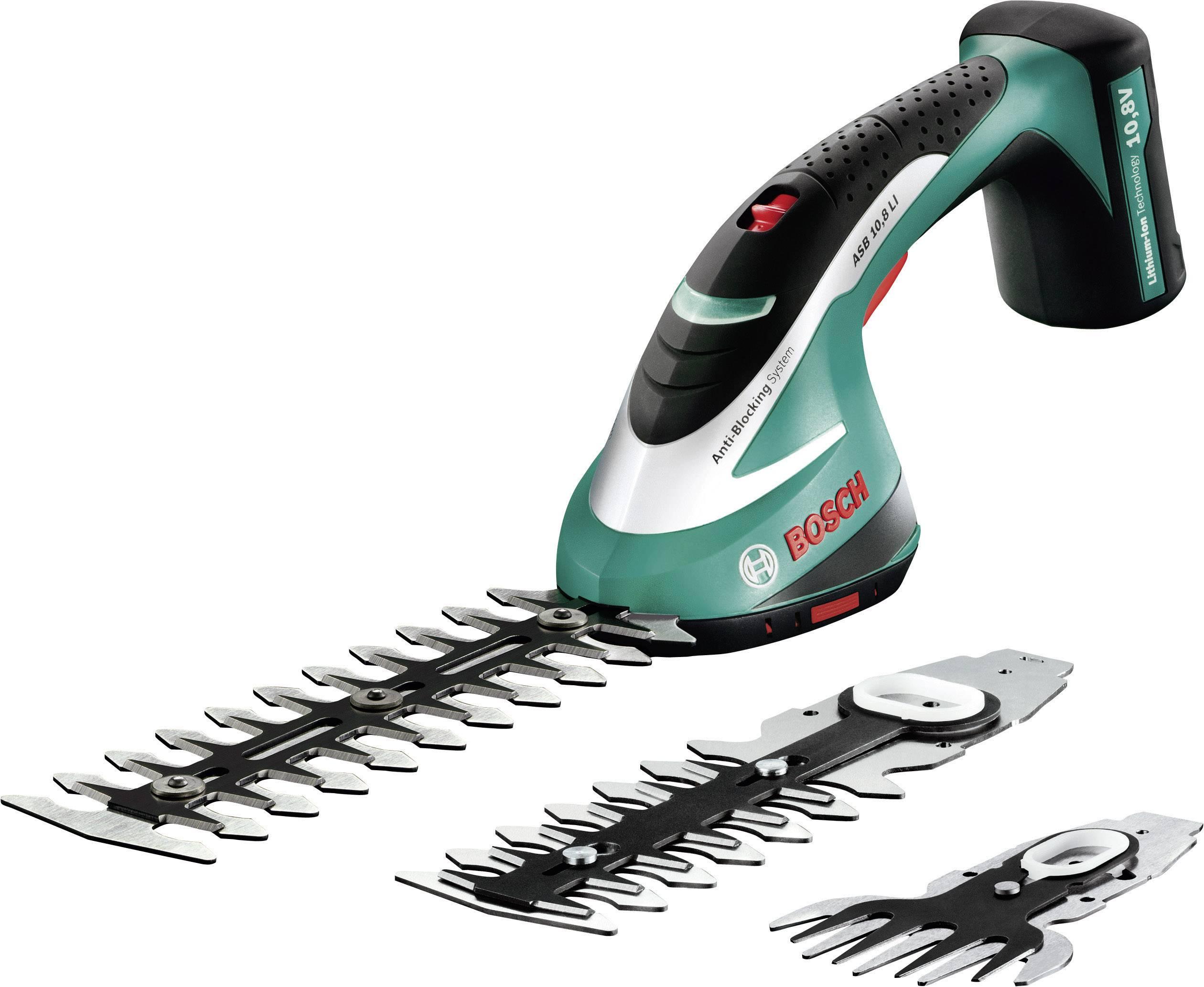 Nožnice na trávu, nožnice na kríky Bosch Home and Garden ASB 10,8 LI SET, na akumulátor