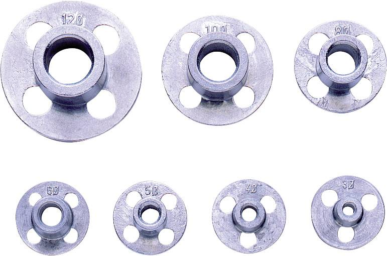 Sada závitových oček pro vnější závity Exact, M3 - M12, DIN 225