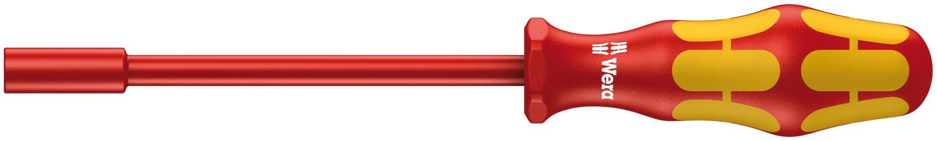VDE nástrčný kľúč vonkajší šesťhran Wera 190 i 05005320001, čepel 125 mm, klíč 9 mm, nástrojová oceľ