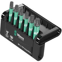 Sada bitů Mini-Check Torx® Impaktor 2 Wera 05057693001 50 mm, nástrojová ocel, diamantová vrstva, legováno, 6dílná Mini-Check Impaktor 2
